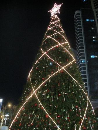 Shinsegae Centum City Spaland : When I was small.... the christmas tress were tall.....