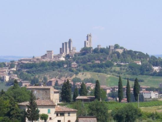 San Gimignano 1300 Bild