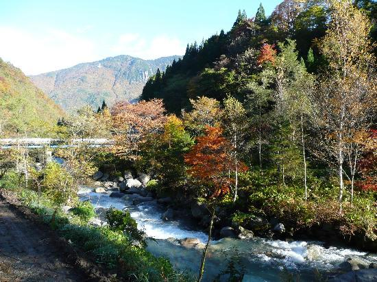 Yumoto Choza: View from hot spring...!