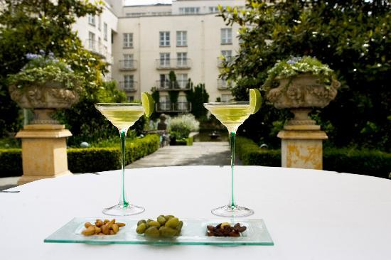 The Merrion Hotel: Martinis in The Gardens