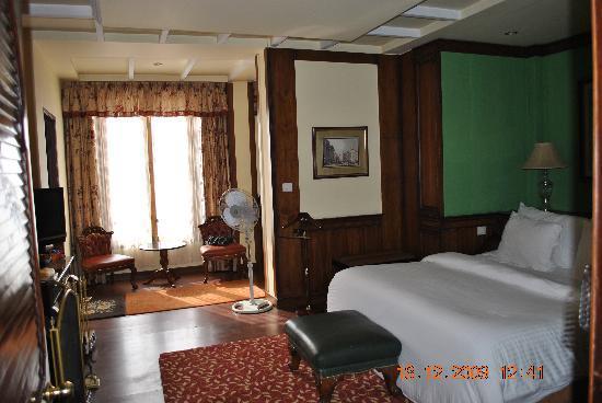 Mayfair Darjeeling: our room