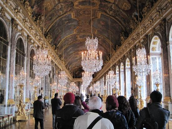 Hall Of Mirrors Palace Of Versailles Picture Of Paris Ile De