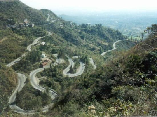 Yercaud, India: Yercuad Road