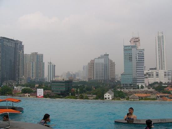 Manhattan Hotel: Manhattan Jakarta プール