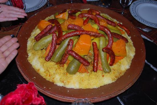 Riad Le Mazagao : super couscous de Mina