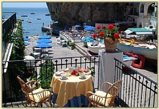 Hotel Alfonso a Mare: terrace