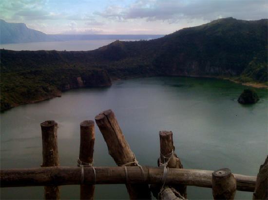 Manila, Filipinas: inner crater lake, Taal volcano