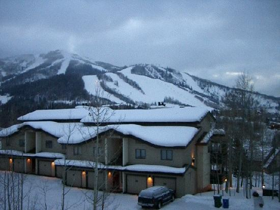 Ranch at Steamboat by Mountain Resorts: outsied our balcony