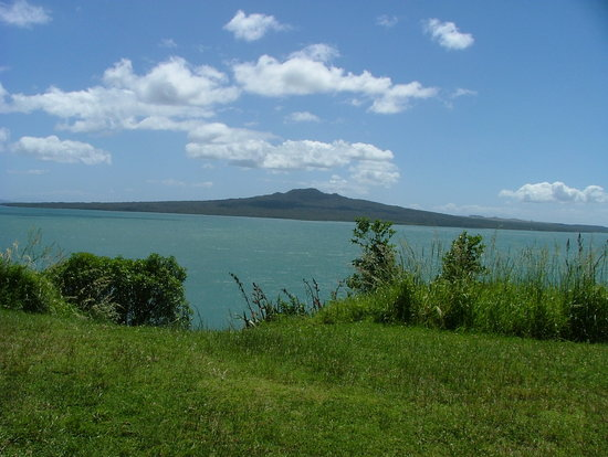 MagicBroomstick (Segway) Tours: view of Mt Rangitoto