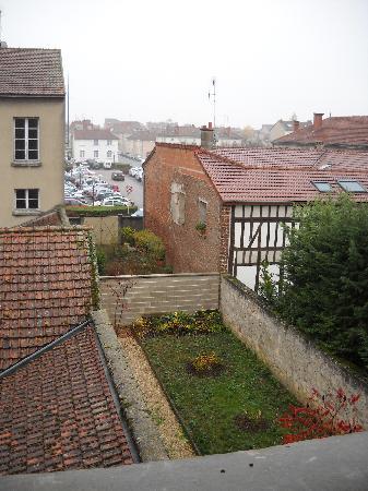 Hotel De La Cloche : View from my room