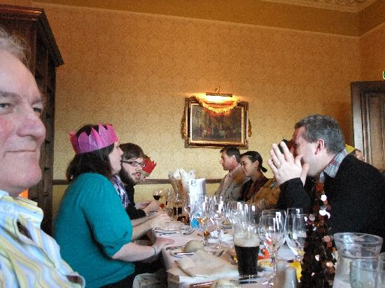 The Dunstane Hotel: Christmas Day lunch