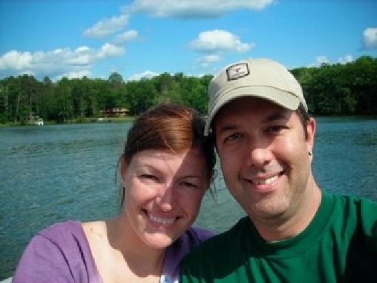 Reel Livin' Resort and Campground: Just got engaged!