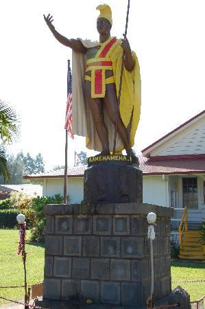 Kapaau, HI: カメハメハ大王像