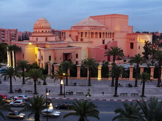 Mogador Opera: The theater across the street from the hotel