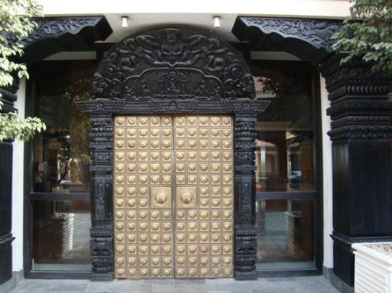 Hyatt Regency Kathmandu: I love this door!