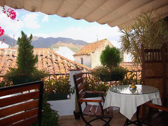La Villa Marbella: The spectacular view we had with breakfast every morning