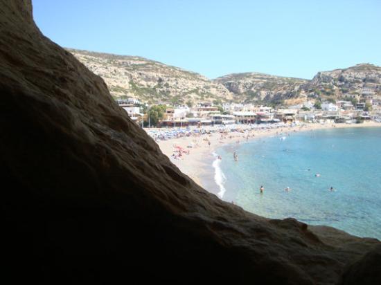 Hersonissos, Greece: Bucht von Matala