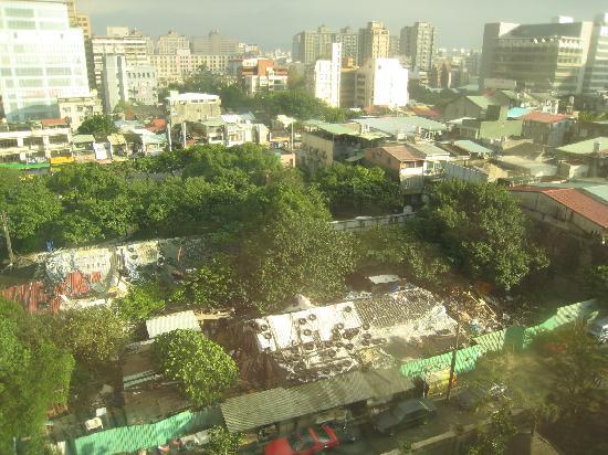 Miramar Garden Taipei : 景色はあまり期待できません…