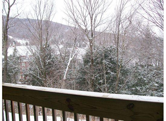 Sugarbush Village Condominums: View from the Balcony