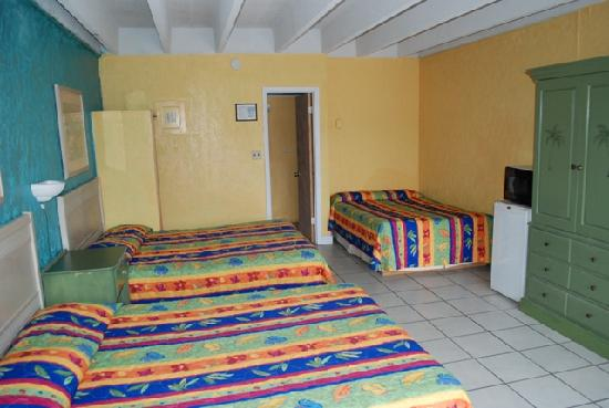 Plaza Motel : Great room/ we had 5 people...