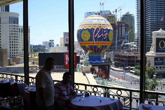 Eiffel Tower Restaurant At Paris Las Vegas Inside View