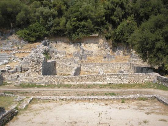 Albania, complexul arheologic Butrint.