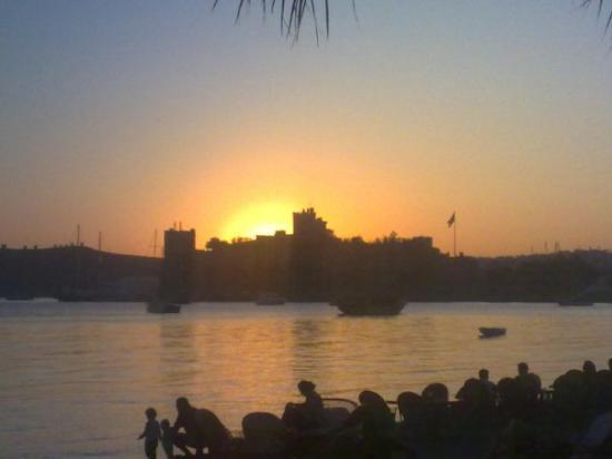 Castle of St. Peter : Bodrum Castle at sunset - amazing!