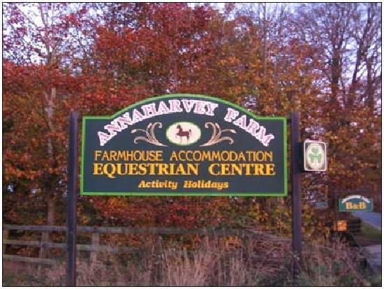 Annaharvey Farm Bed and Breakfast: Welcome to Annaharvey