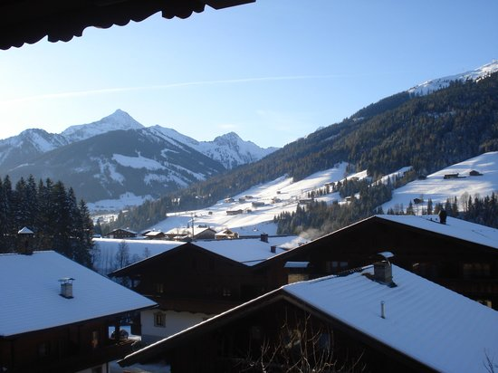 Der Berghof : View from room 3