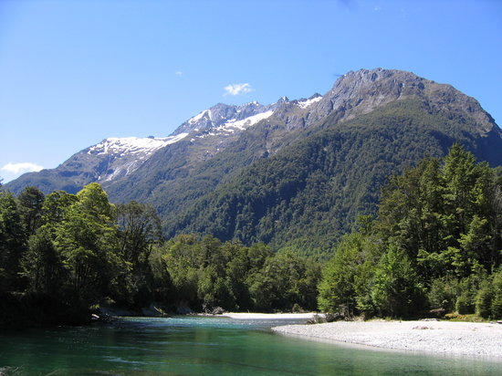 Milford Track Guided Day Walk - Real Journeys : Along the Clinton River