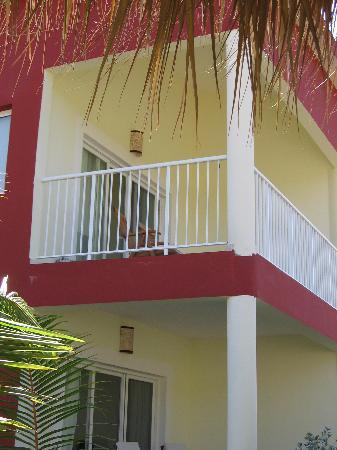 TRS Turquesa Hotel: Back terrace