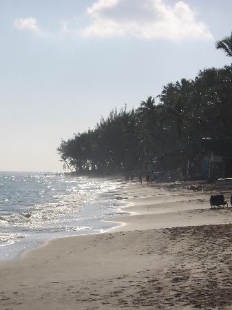 TRS Turquesa Hotel: beach at sunset