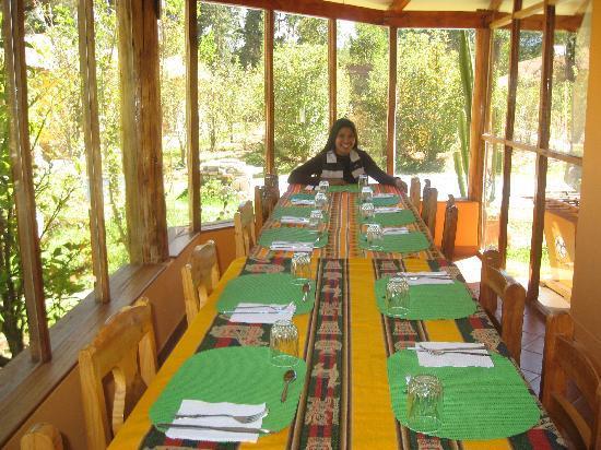 El Huerto Paraiso Sacred Valley Lodge: muy limpio y muy buena comida