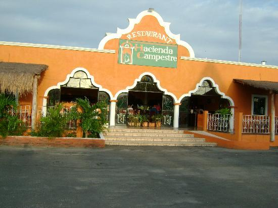 Hacienda Campestre : Front of Hacineda from the street