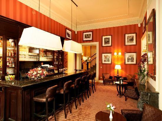 Grand Hotel Casselbergh Bruges: Hotelbar
