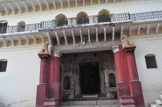 Alipura, Indien: main gate