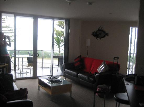 Kaikoura Apartments: Lounge