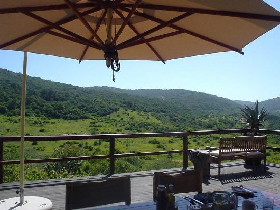 Hopewell Private Game Reserve: Breakfast view