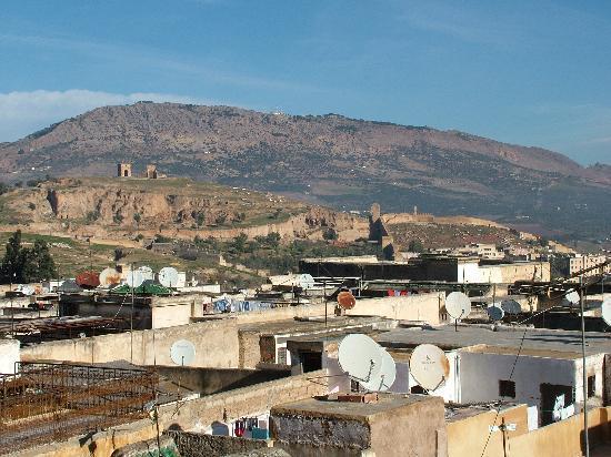 Riad Boujloud: Terrazza del Riad