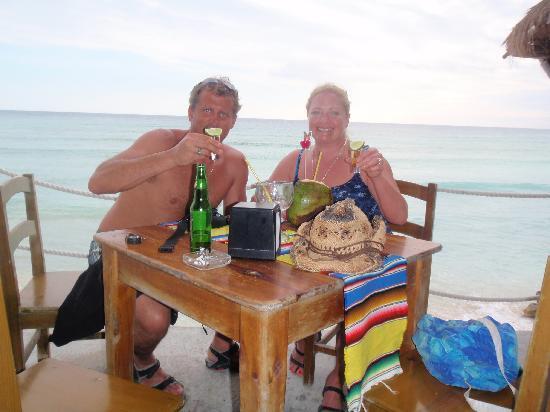 Playa Bonita: On the patio