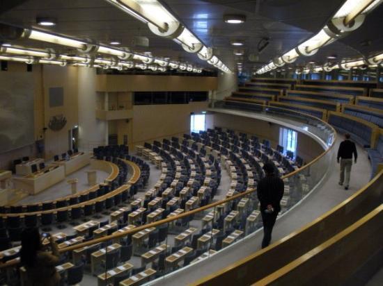 Parliament Building (Riksdagshuset): The Parliament of Sweden
