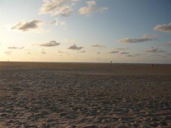 Juist, Germany: Sonnenuntergang
