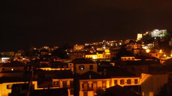 Hotel Orquidea: View from the rooftop terrace at night