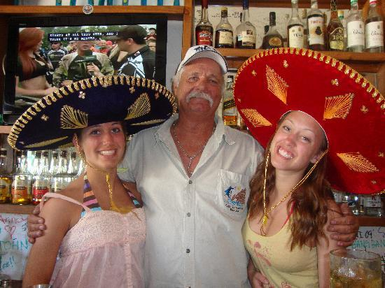 Shots Bar and Grill: cap't mike and the girls