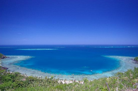 Naviti Island, Fidschi: A view from above