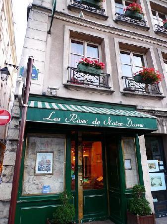 Les Rives De Notre Dame : 一歩入ると落ち着いた空間