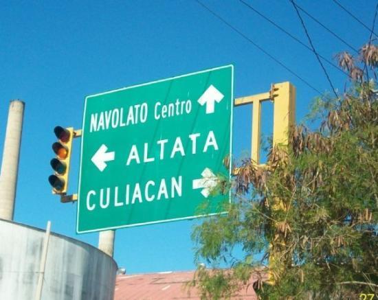 Culiacan, México: Rumbo a Navolato..