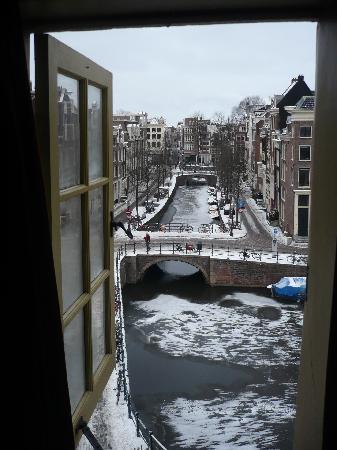 Hotel Brouwer: vue depuis la chambre