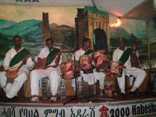 2000 Habesha Cultural Restaurant: Mira band - Abesha Cultural Restaurant