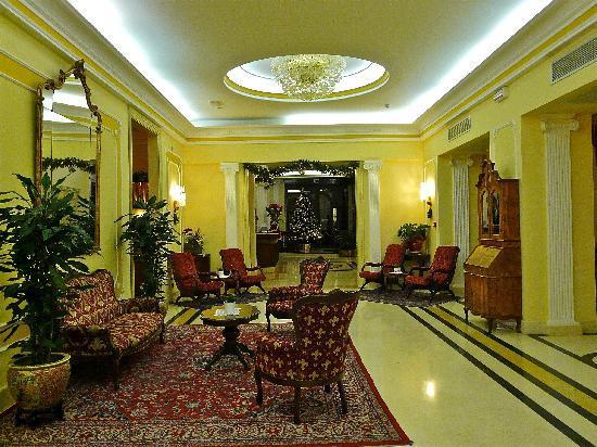 Palace Hotel Meggiorato: sala accoglienza